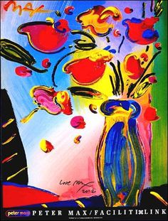 Peter Max FACILITILINK FLOWERS