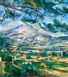 Mt. Saint Victoire (Paul Cezanne, 1887)