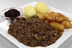 Millionbøf med brunede kartofler og rødbeder, billede 4