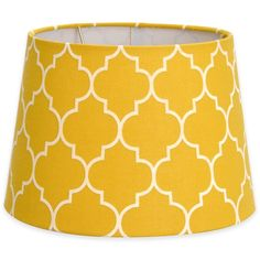 product image for Flocked Linen Lamp Shade Collection