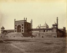 The Juma (Jami) Musjid, Delhi -1875