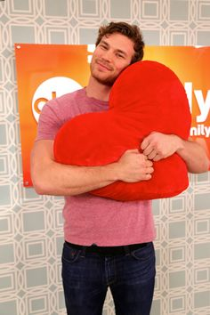 It's almost Valentine's Day and Derek Theler hearts you!