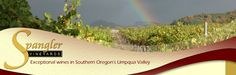 Spangler Vineyards  Umpqua Valley  491 Winery Ln.  Roseburg, Oregon