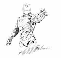 Image result for iron man design sketch