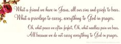 Free facebook cover photo: What a Friend We Have in Jesus hymn