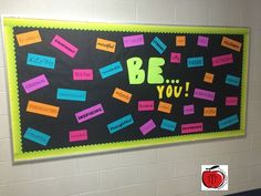 Terri's Teaching Treasures: Great back to school bulletin board with positive character traits. Counseling Bulletin Boards, Back To School Bulletin Boards, 5th Grade Classroom, Classroom Door, Classroom Ideas, Classroom Resources, Free Teaching Resources, Teaching Activities, Teaching Ideas