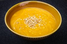 Creamy Vegan Pumpkin Soup with Granola