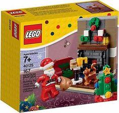 LEGO - 2015 Holiday Set - 40125 - Santa's Visit - New + Sealed - Christmas