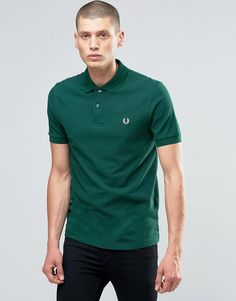 Image 1 ofFred Perry Polo Shirt In Ivy