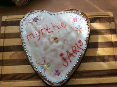 Zelfgemaakte taart thema eten