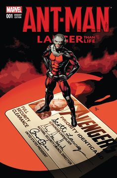 Ant-Man: Larger Than Life #1 (One-Shot) by Mike Deodato Jr. *