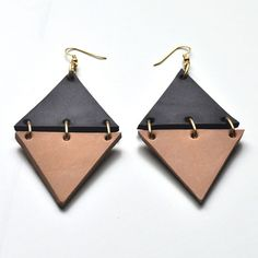 Canoe's Lovely #Leather Luna #modern #Jewelry Line