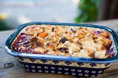 Apricot Berry Cobbler is EASY and perfect for a summer dessert!