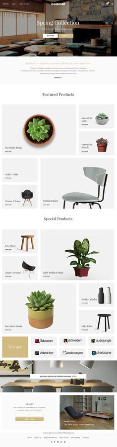 BESTMALL is Terrific PSD Template for uniquely design #eCommerce #website designed in #Photoshop with a modern look. Download Now!