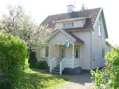 Onze vakantiewoning Sunnehuset in Munkfors, provincie Värmland, SE