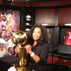 """Oprah (@Oprah): """"Getting ready to interview NBA Champs for NEXT CHAPTER!"""""""