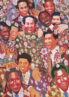 Mao: Pattern Print: by Yu Youhan