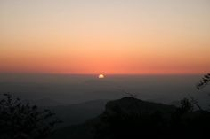 #Sunset at Dhoopgarh, #Pachmarhi
