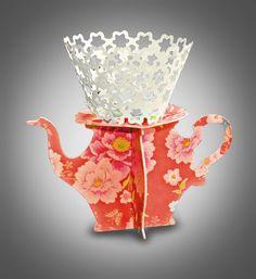3D SVG Cupcake Stand for single cupcake DIGITAL by MySVGHUT