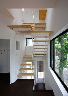 house at matsubara by atelier hako architects in tokyo, japan