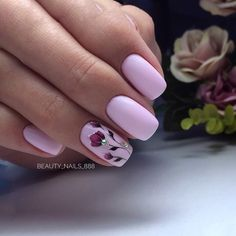 Make an original manicure for Valentine's Day - My Nails Creative Nail Designs, Pink Nail Designs, Creative Nails, Trendy Nails, Cute Nails, Hair And Nails, My Nails, Manicure E Pedicure, Nagel Gel