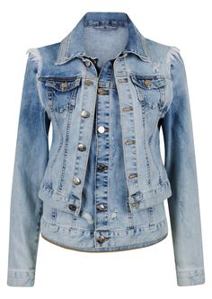 OJ 2 Layer Jkt   BikBok Blazer Jacket, Layers, Denim, Coat, Jackets, Blue, Ideas, Fashion, Layering