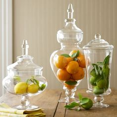 frutas no pote de vidro decorativo - Pesquisa Google