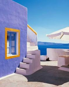 Travel Inspiration for Greece - Traditional accommodation in Koufonissia Cyclades Aegean Sea Santorini Island, Santorini Greece, Places To Travel, Places To Go, Greek Isles, Mediterranean Style, Greece Travel, Home Design, Landscape Photography