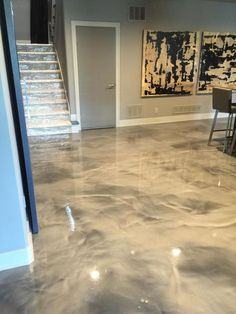 epoxy floor There exists a countless stream of unfinished basement ideas around, with ideas . Basement Remodel Diy, Basement Makeover, Basement Plans, Basement Bedrooms, Basement Renovations, Home Remodeling, Basement Ideas, Basement Designs, Basement Bathroom