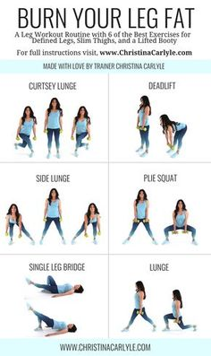 Leg workout routine for women & Leg workout & Home Workout & Home Workout form women & Leg exercises & Christina Carlyle The Best Leg& The post The Best Leg Workout For Women to Lose Leg Fat appeared first on Shane Carlson Fitness. Fitness Workouts, Fitness Motivation, Fitness Routines, Ab Workouts, Easy Home Workouts, Easy Workouts For Beginners, Weight Training For Beginners, Fitness Memes, Home Exercise Routines