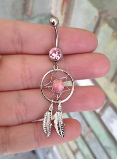 Dream Catcher Belly Ring by MidwestPistol on Etsy, $14.00