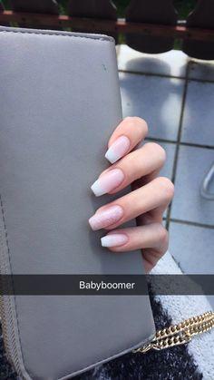 #babyboomer #nails #ballerina