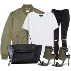 A fashion look from July 2015 featuring MANGO t-shirts, Yves Saint Laurent jackets and Glamorous jeans. Browse and shop related looks.