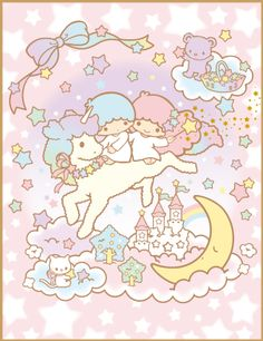 New Ideas Quotes Cute Love Stars Sanrio Wallpaper, Star Wallpaper, Hello Kitty Wallpaper, Kawaii Wallpaper, Sanrio Characters, Cute Characters, Little Twin Stars, Little Star, Sanrio Danshi