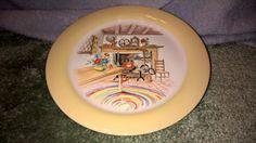 Vintage Homer Laughlin Plate  Colonial by RobandJensOddsnEnds