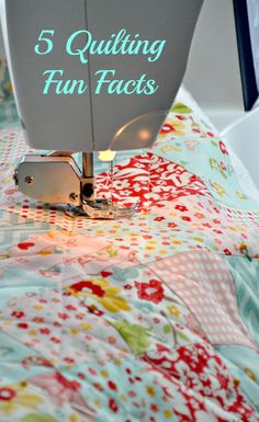 5 Quilting Fun Facts       http://makobiscribe.com/five-quilting-fun-facts-i-bet-you-didnt-know/