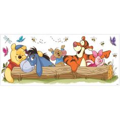 York Wallpaper Walt Disney Kids Ii Pooh & Friends Outdoor Fun Giant Wall Decal - Welcome to our website, We hope you are satisfied with the content we offer. Disney Winnie The Pooh, Winnie The Pooh Tattoos, Winnie The Pooh Drawing, Winnie The Pooh Pictures, Winnie The Pooh Quotes, Winnie The Pooh Friends, Eeyore Pictures, Eeyore Quotes, Cartoon Wallpaper