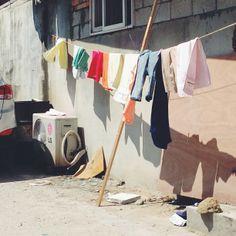 .@k__min | #wall #korea #washing #빨래 #summer #sunshine | Webstagram