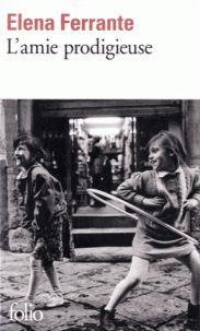 L'amie prodigieuse : enfance, adolescence / Elena Ferrante ; traduit de l'italien par Elsa Damien http://bu.univ-angers.fr/rechercher/description?notice=000808466