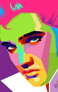 Elvis Pop Art, by Joe Petruccio Andy Warhol, Tableau Pop Art, Sketch Manga, Vintage Cartoons, Pop Art Portraits, Illustration, Poster S, Art Moderne, Art Graphique