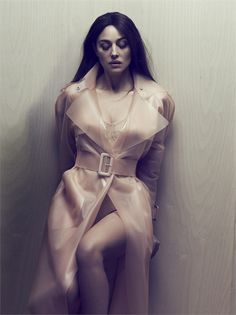 Monica Belucci in a latex trench coat. Insanely gorgeous and subtle #fetish vision.