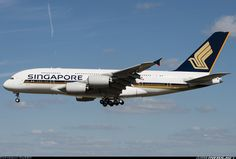 Singapore Airlines F-WWSA / 9V-SKT Airbus A380-841 aircraft picture
