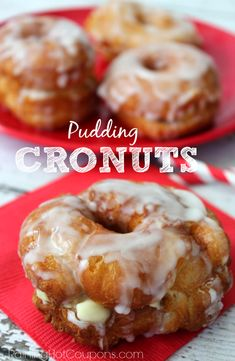Easy Pudding Cronuts