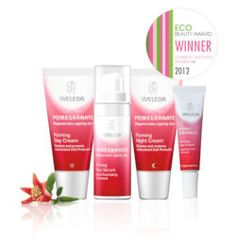 The CEW Eco Beauty Award for our Pomegranate Firming Facial Care range
