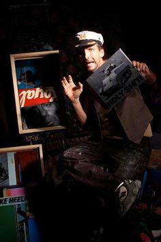 Artist John Sollom for Roadkill Ranch.