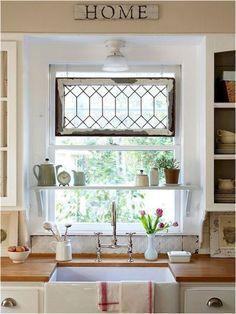 50 elegant farmhouse kitchen decor ideas (27)