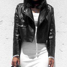 ⚫️⚪️✔️✔️✔️ @missguided jacket  @mamasboutique dress  #babesofmissguided #mamasboutique