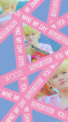 You make my day edition 'Woozi' Seungkwan, Wonwoo, Jeonghan, Seventeen Woozi, Seventeen Debut, Artsy Background, Hip Hop, Cell Wall, Seventeen Wallpapers