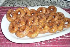 Rosquillas de San Froilán Beignets, Sausage, Meat, Food, Donut Holes, Cookies, Sweet Treats, Desserts, Cooking