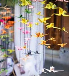 caractériELLE: Origami et la déco